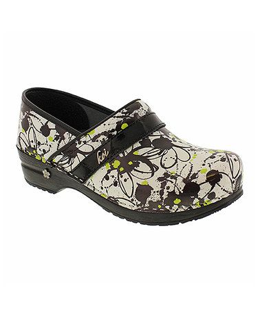 Another great find on #zulily! Black Koi Gabby Leather Clog #zulilyfinds