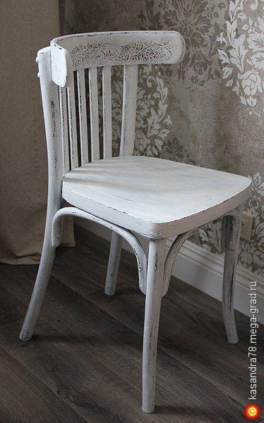 Декор венских стульев в стиле шебби и прованс - стулья и табуреты ручной работы. МегаГрад - online выставка-продажа авторской ручной работы, авторсике принадлежности для кухни. МегаГрад - online выставка-продажа авторской ручной работы