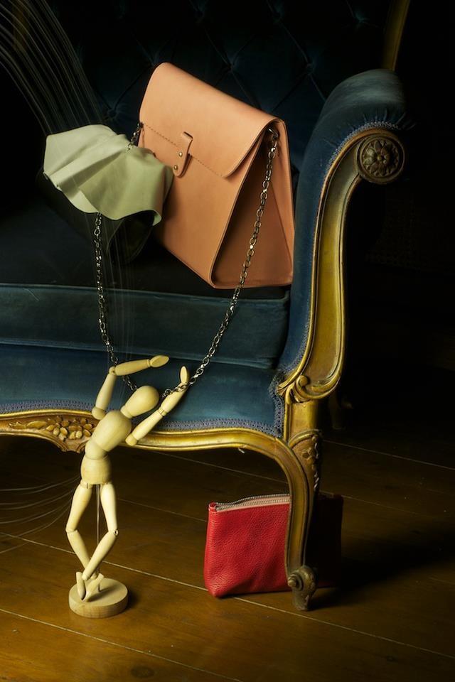 handmade leather bag/ www.rien.gr RIEN by Penny Vomva