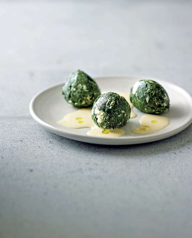 Feta-creamed spinach by Greg & Lucy Malouf from Malouf | Cooked