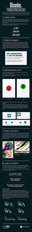 Diseño de transparencias: 5 consejos de un estudio de diseño y comunicación gráfica