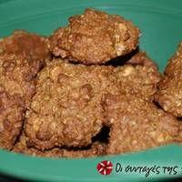 Νηστίσιμα και υγιεινά μπισκότα βρώμης