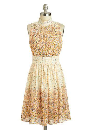 Windy City Dress in Confetti, #ModCloth