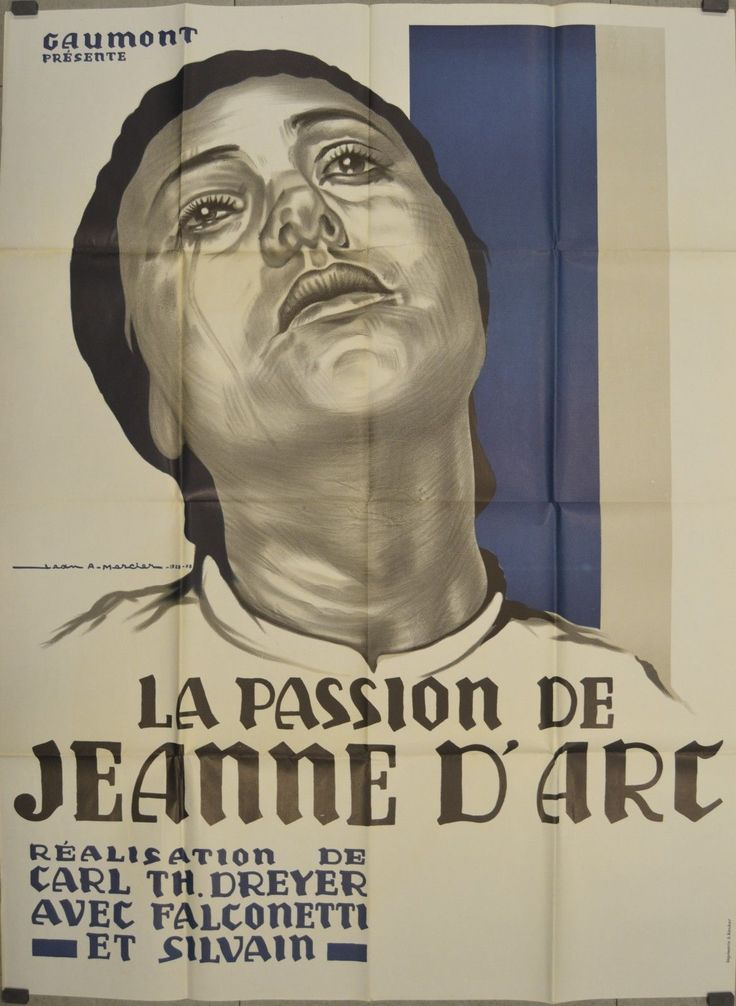La Passion de Jeanne D'Arc Carl Theodor Dreyer Movie ...