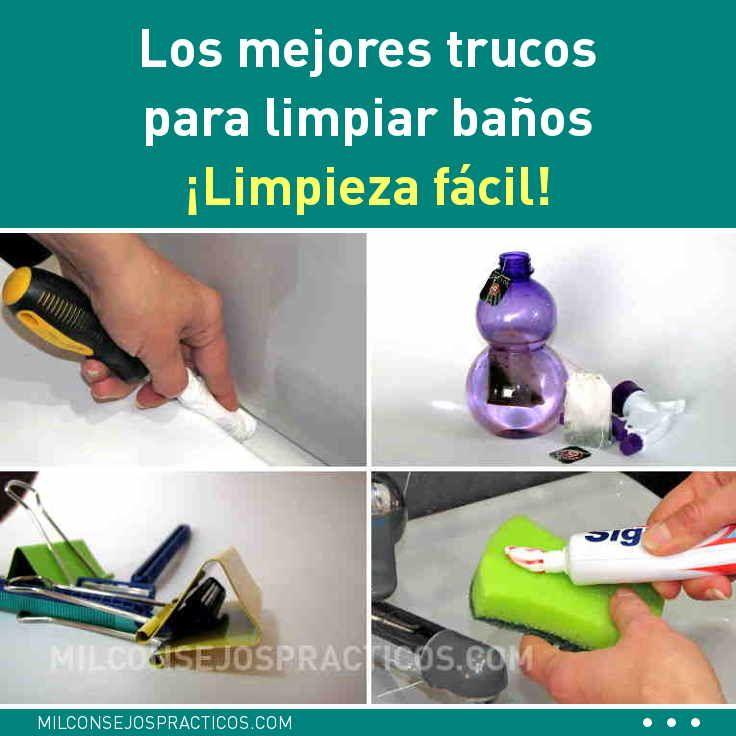 Los Mejores Trucos Para Limpiar Baños Limpieza Fácil Soap Bottle Hand Soap Bottle Soap
