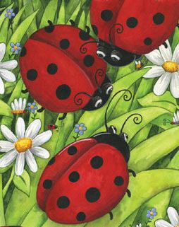 For my little Ladybug!! I love you little girl