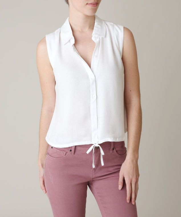 GUESS nicole shirt - wb, WHITE 69.00
