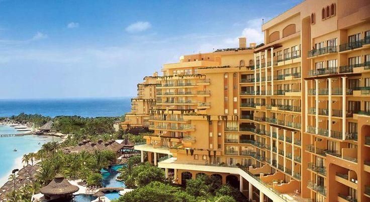 HOTEL|メキシコ ・カンクンのホテル>広さ3,720㎡>フィエスタ アメリカーナ グランド コーラル ビーチ カンクン リゾート & スパ(Fiesta Americana Grand Coral Beach Cancun Resort & Spa)