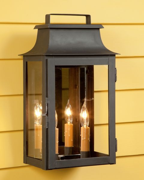 Top Handle Lantern Two Light Lewm 48 Porch Lighting