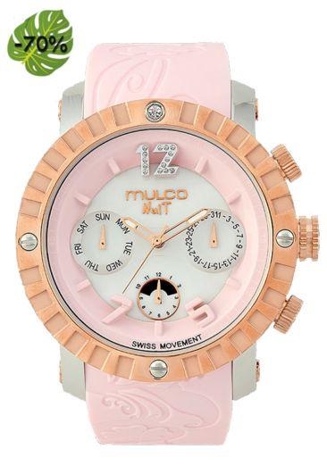 Rebajas de Verano! Relojes Mulco Nuit Lace color ROSA MW5 -876-813