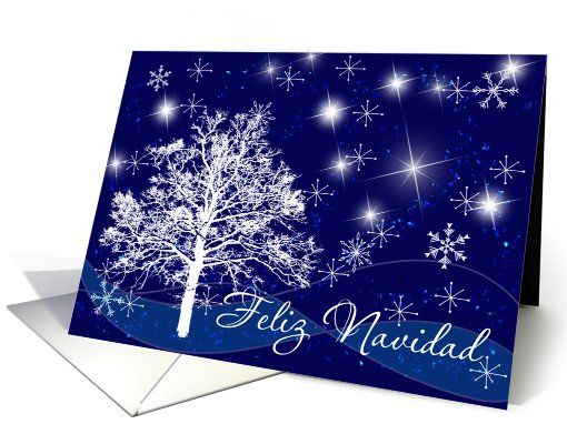 13 best spanish christmas cards images on pinterest holiday cards christmas stars spanish card m4hsunfo
