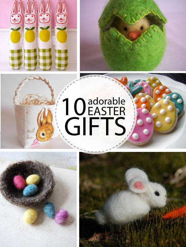 Easter hostess gift ideas to make my web value 10 adorable handmade easter gifts for the littles negle Gallery