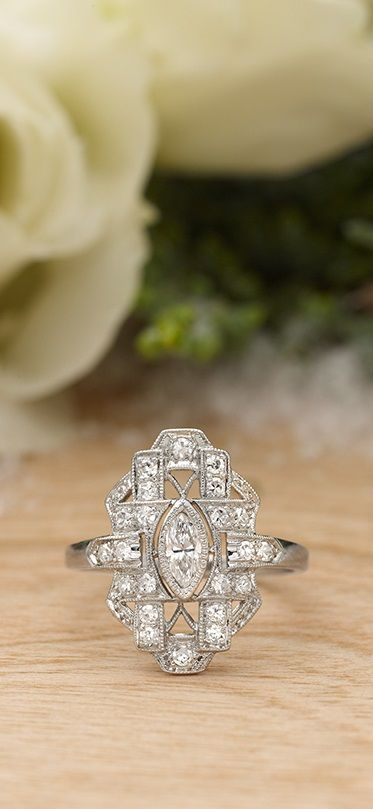 Searching for the perfect vintage ring? Explore our collection of antique diamond engagement rings!