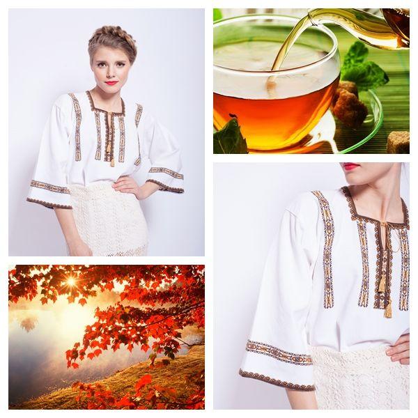 Autumn is a great season! #vintage #romanianblouse #ie