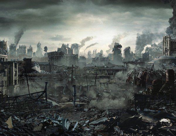 post-apocalypse ruins