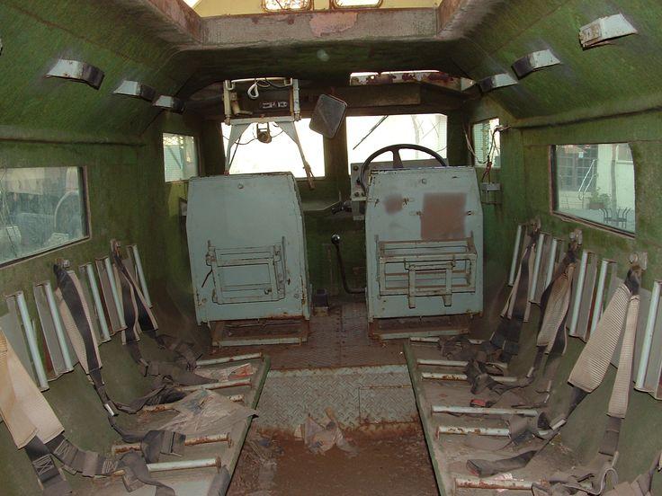 Casspir interior