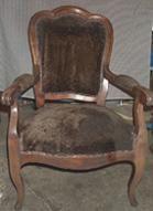 Tapisserie en siège