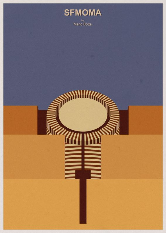 Love this vintage style SFMOMA poster by André... | SFMOMA