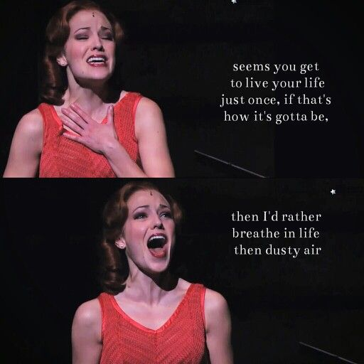 Dyin Ain't So Bad - Laura Osnes...Bonnie and Clyde. Most incredible note in the entire musical!