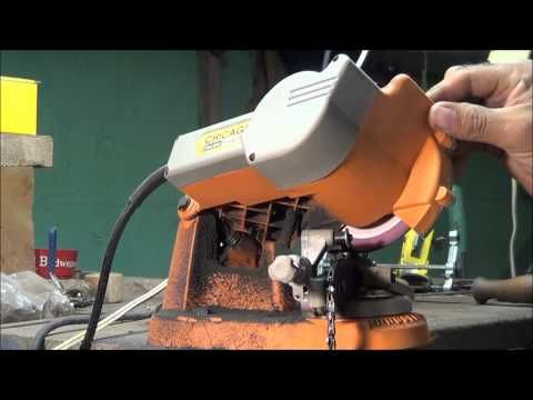 My Chainsaw Sharpener - YouTube