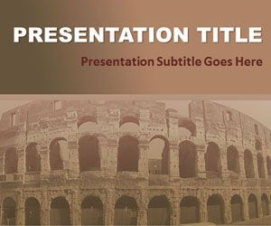 Civilization PowerPoint Template is a free history PPT template slide design for education PowerPoint presentations with sepia tone that you can download for presentations on civilization