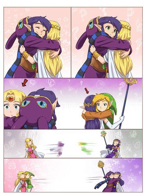 Link x Zelda. Oups !