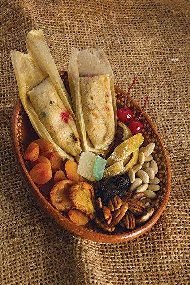 Tamalitos de mantequilla con frutos secos