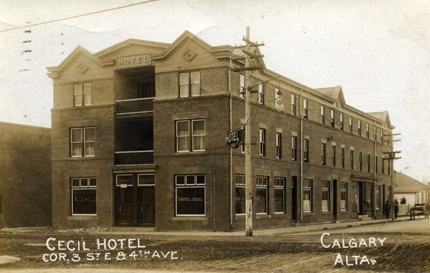 Cecil Hotel - Photo courtesy Calgary Public Library / Postmedia News