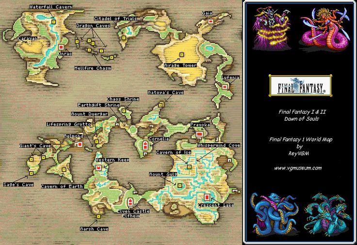 Ff Map X : Final Fantasy Vii World Map – weddingsatwhisperingoaks