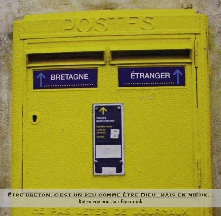 Boite aux lettres en Bretagne !