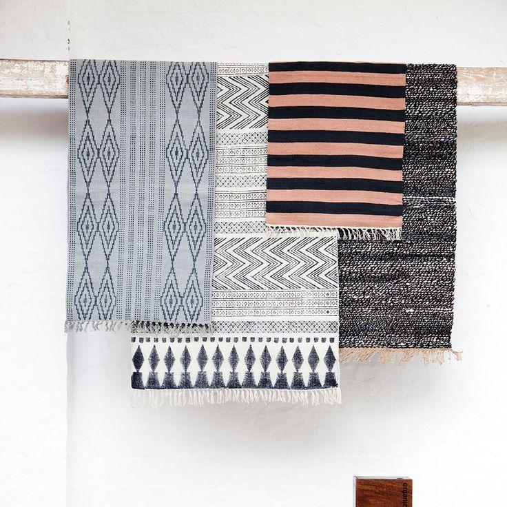 Block Rug 60x90cm - House Doctor - House Doctor - RoyalDesign.com #housedoctor #rugs #blockrug #design #interiordesign #interior #royaldesign