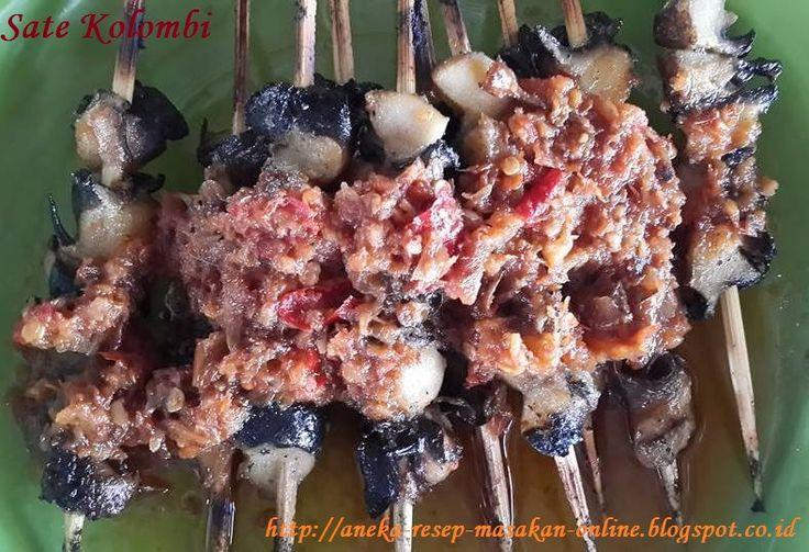 Sate Kolombi (Keong emas) ala Manado.  Simak yuk resepnya http://aneka-resep-masakan-online.blogspot.co.id/2015/12/resep-sate-kolombi-asli-manado.html
