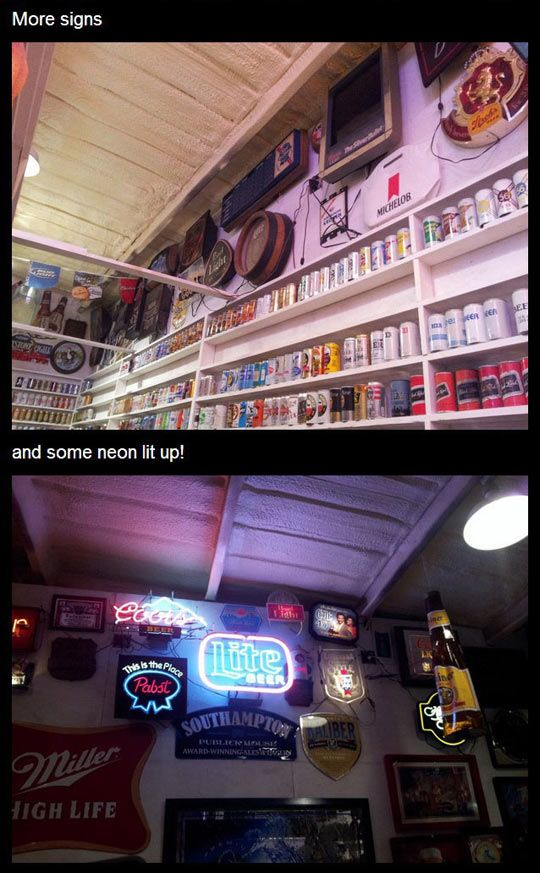 Incredible Collection Of Beer Cans - Seriously, For Real?