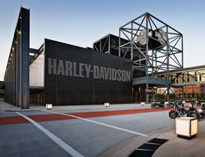 Harley Davidson Museum Milwaukee WI  (This is on my husbands list of stops for our next vacation.... hmmmm.....)