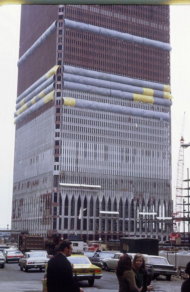 World Trade Center under construction. | Flickr - Photo Sharing!