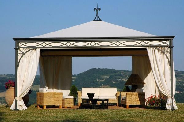This Kind Of Metal Gazebo Is A Very Inspiring And Wonderful Idea