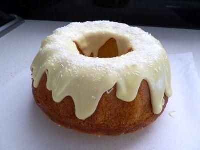Fast Lemon and Coconut Cake