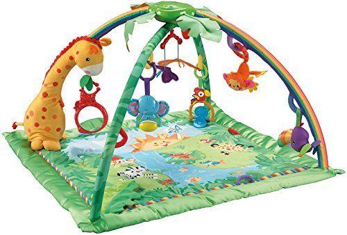 Mattel Fisher-Price K4562 Rainforest Erlebnisdecke: Amazon.de: Baby