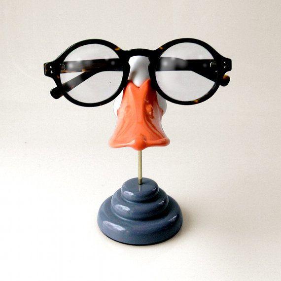 Duckbill eyeglass stand Funny sunglasses display Kids by ArtAkimbo