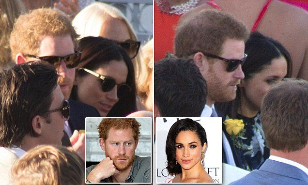Body language expert Judi James says Prince Harry appears to be 'ignoring' his girlfriend Meghan Markle in pictures taken at the wedding of close friend Tom Inskip in Jamaica last week.