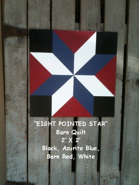 The BarnQuiltStore Blog: Patriotic Flag Barn Quilt & Others...For Sale!!
