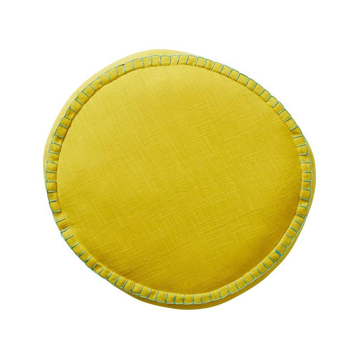 Rylie Round Cushion - Chartreuse