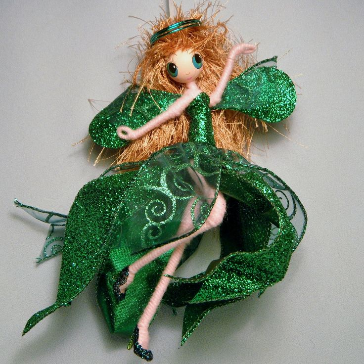 Holiday+Fairy+ANGEL+DOLL+with+Halo+ooak+Christmas+by+WistfulFaerie,+$35.00