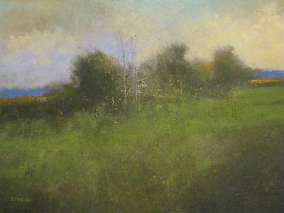 """Pears"" Original Watercolor & Gouache Painting by Nashville Artist Darryl Glenn Steele"