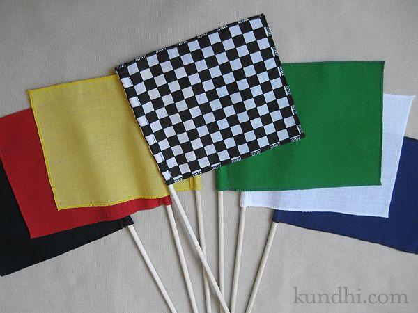 mini checkered flag