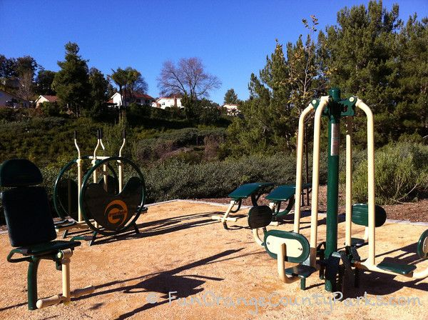 Local Workout Parks with Outdoor Fitness Equipment