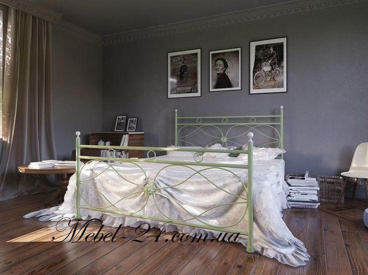 Металлические кровати в новой коллекции Bella-Latto от «Мебель-24», купить кровать металлическую, низкие цены