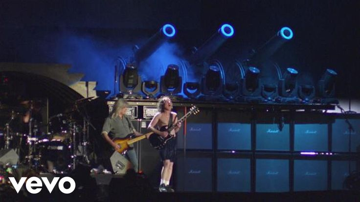 AC/DC - For Those About to Rock (We Salute You) (from Live at River Plate) - All those sexy, fabulous, beautiful, ugly, and just plain craxzy who know how to rock their own world...we salute you!
