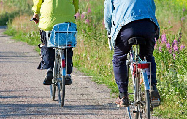 Pyöräily sopii jokaiselle perusterveelle ihmiselle, myös ylipainoisille ja nivelvaivaisille, sillä pyöräilyssä nivelet eivät juuri kuormitu.