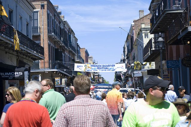 French Quarter Fest comes to town this weekend! Prepare yourself with our guide to parking, eating and grooving to the music.